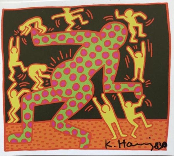 Keith Haring - Fertility - Screenprint