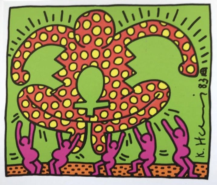 Keith Haring - Force - Screenprint