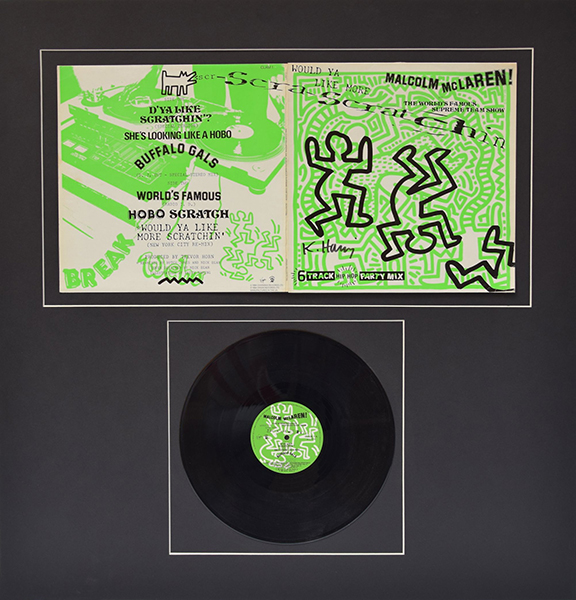 Keith Haring - Malcolm McLaren, Would Ya Like More Scratchin