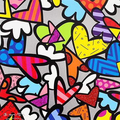 Romero Britto - Night Love